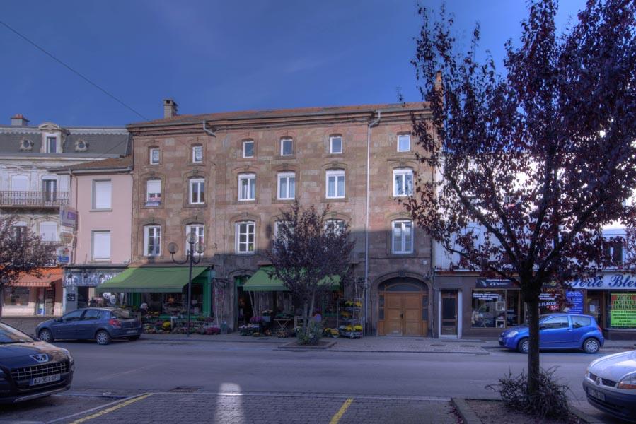 Location F3 centre ville de Bruyères
