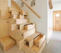 Pas bête ! Des escaliers originaux pour optimiser votre rangement !