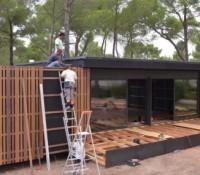 Une sublime maison en kit construite en 4 jours ! On vous dit tout