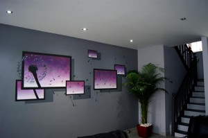 peinture-sur-mur-salon-3D - immovateur.com