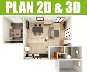 plan-2D-3D