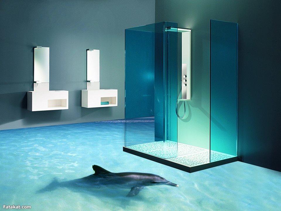 revêtement-sol-résine-aspect-3D-dauphin