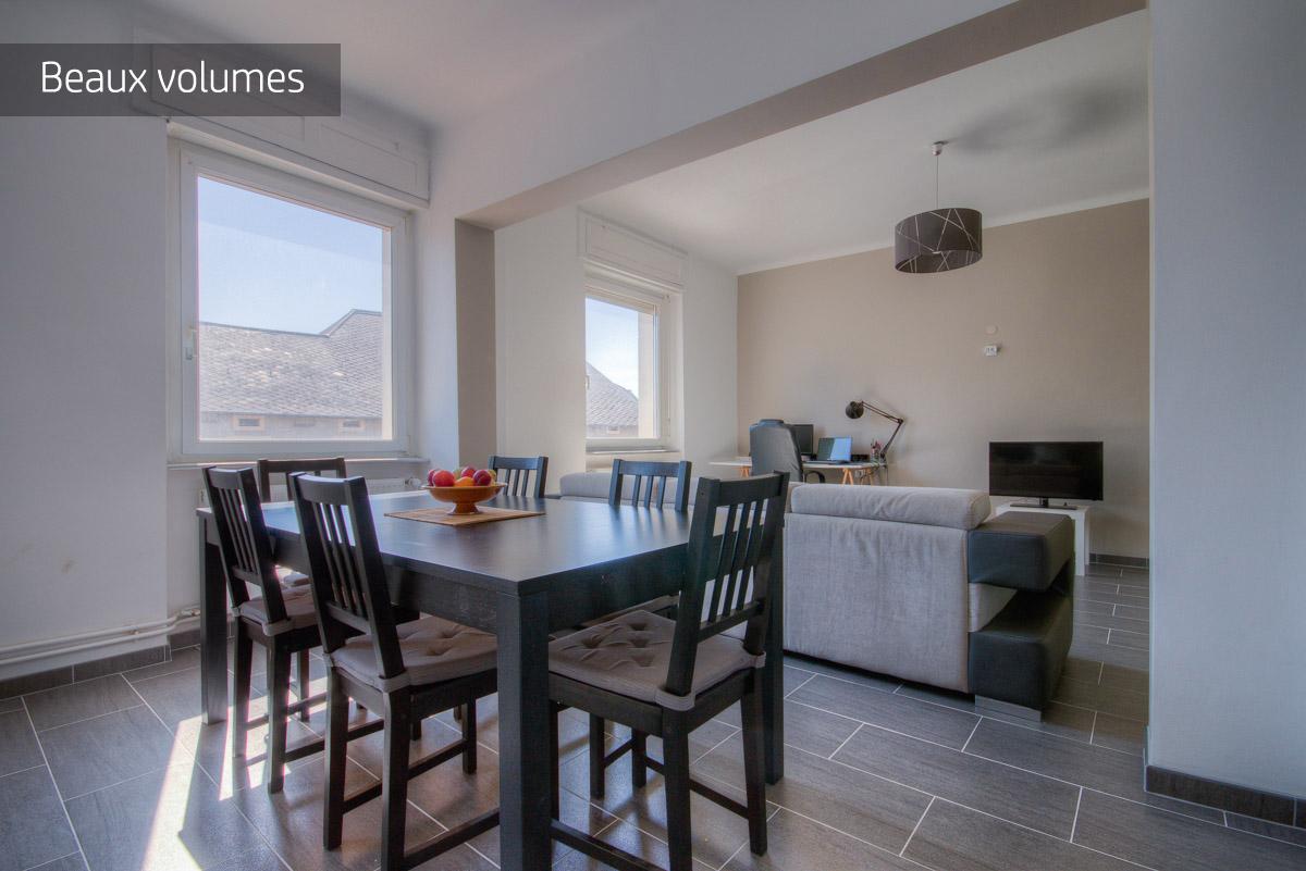 Appartement de standing  3 chambres à vendre sur Angevillers