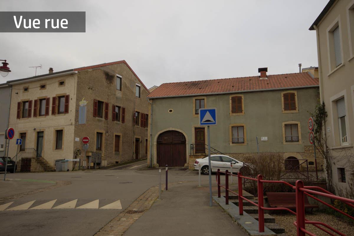 Spacieuse maison jumelée à rénover en plein cœur de Volmerange les Mines
