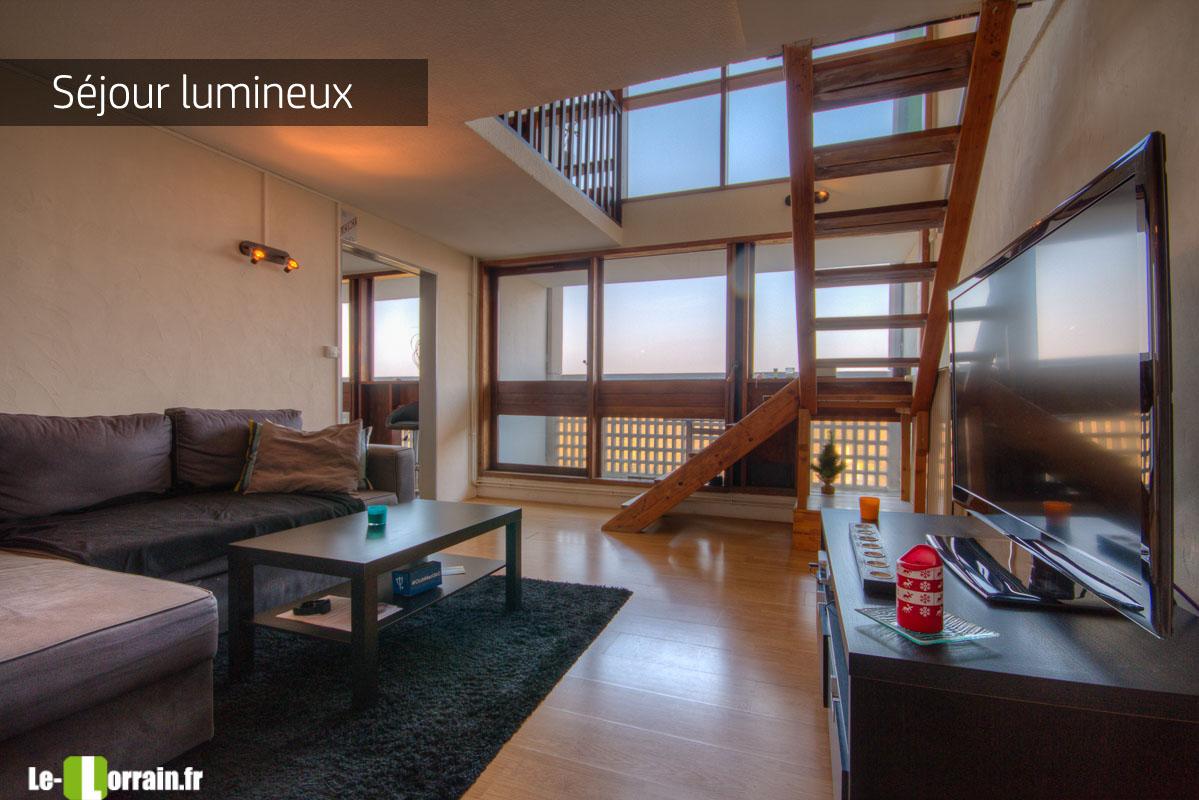 Affaire beau duplex une chambre possibilit deux briey - Appartement cite radieuse ...